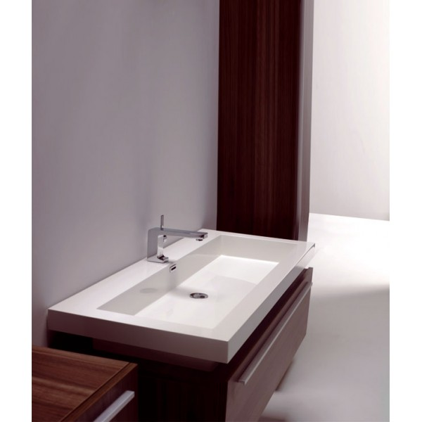 Meuble salle de bain design eloha 1200 adeonna for Photo salle de bain design